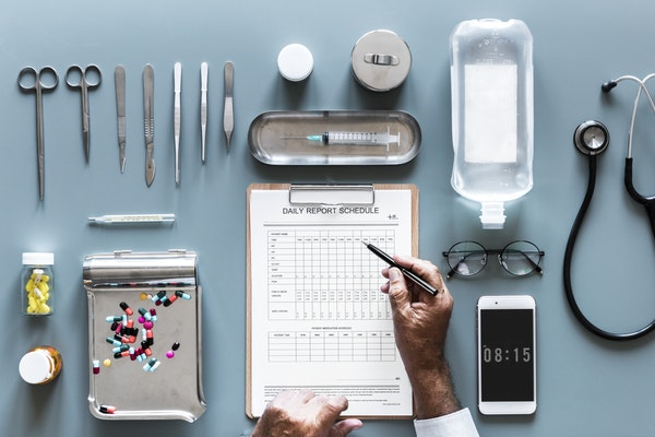 healthcare industry through blockchain
